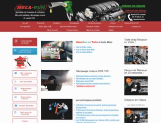 mecarun.com screenshot