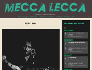 meccalecca.com screenshot