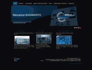meccanicasugamosto.it screenshot