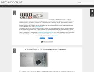 meccanico-online.blogspot.com screenshot