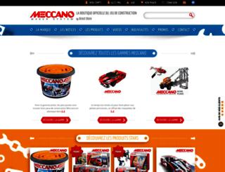 meccanodirect.fr screenshot