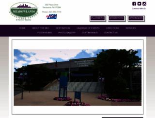 mecexpo.com screenshot