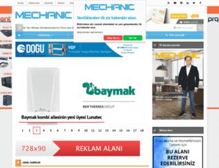 mechanic.com.tr screenshot