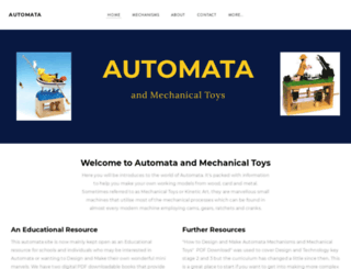 mechanical-toys.com screenshot