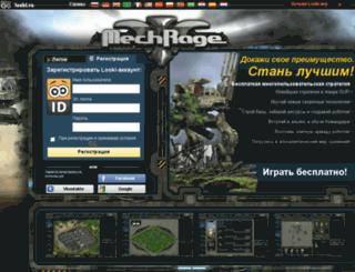 mechrage.ru screenshot
