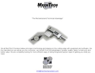 mechtechprecision.com screenshot