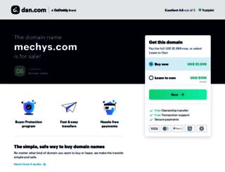 mechys.com screenshot