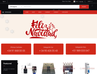 mecleven.com screenshot