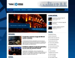 mecontuc.gov.ar screenshot