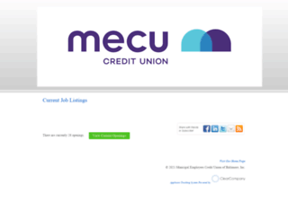 mecu.hrmdirect.com screenshot