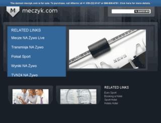 meczyk.com screenshot