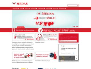 med-as.ro screenshot