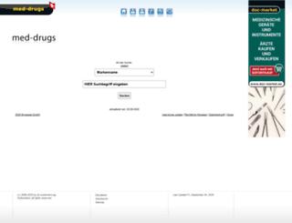 med-drugs.ch screenshot
