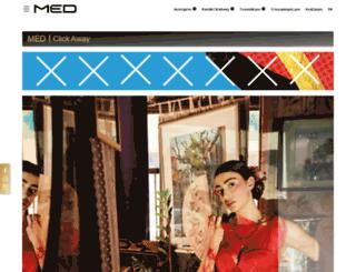 med.com.gr screenshot