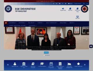 med.ege.edu.tr screenshot