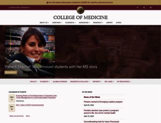 med.fsu.edu screenshot