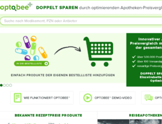 med.optobee.de screenshot