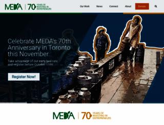 meda.org screenshot