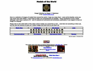 medals.org.uk screenshot