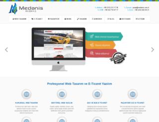 medanis.com.tr screenshot