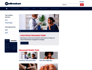 medbroadcast.com screenshot