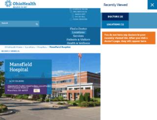 medcentral.org screenshot