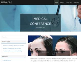 medconf01.com screenshot