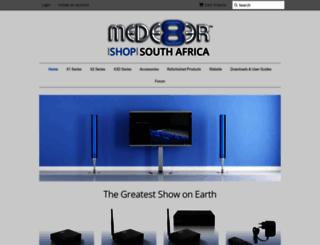 mede8ershop.co.za screenshot