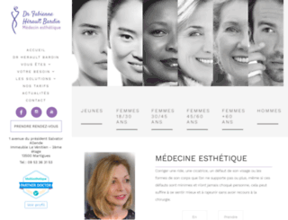 medecine-esthetique-antiage-nutrition.fr screenshot