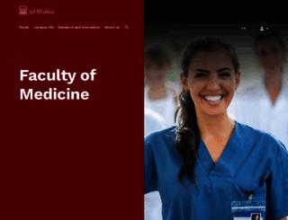medecine.uottawa.ca screenshot