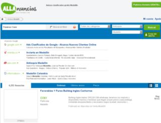 medellin.vivavisos.com screenshot