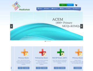 medexhub.com screenshot