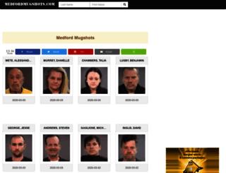 medfordmugshots.com screenshot