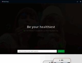 medhelp.org screenshot
