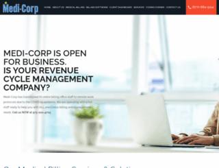 medi-corp.com screenshot