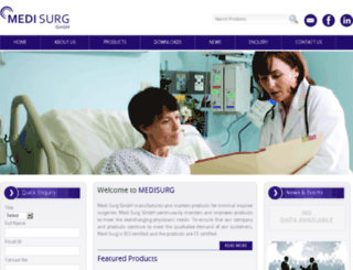 medi-surg.com screenshot