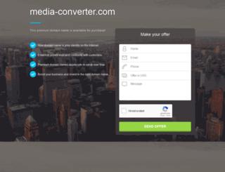 media-converter.com screenshot