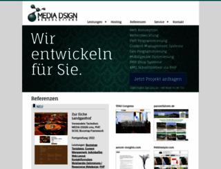 media-dsign.de screenshot