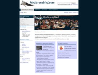 media-enabled.com screenshot