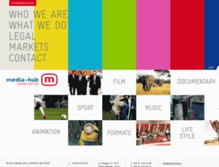 media-hub.tv screenshot