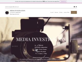 media-investigation.com screenshot