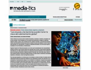 media-tics.com screenshot