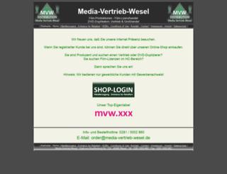 media-vertrieb-wesel.de screenshot