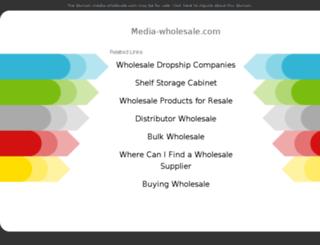media-wholesale.com screenshot
