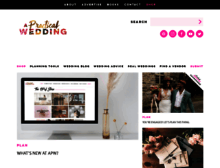 media.apracticalwedding.com screenshot