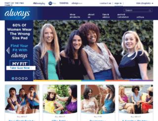 media.beinggirl.com screenshot