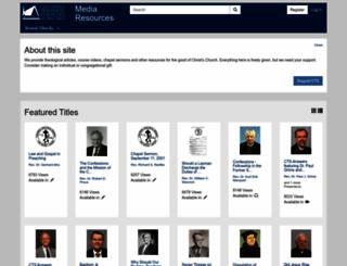 media.ctsfw.edu screenshot
