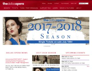 media.dallasopera.org screenshot