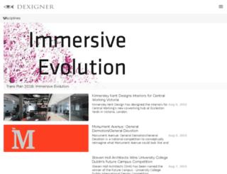 media.dexigner.com screenshot