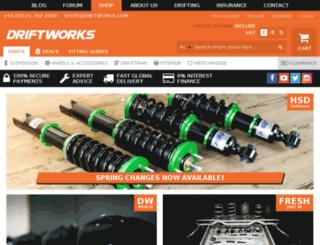 media.driftworks.com screenshot